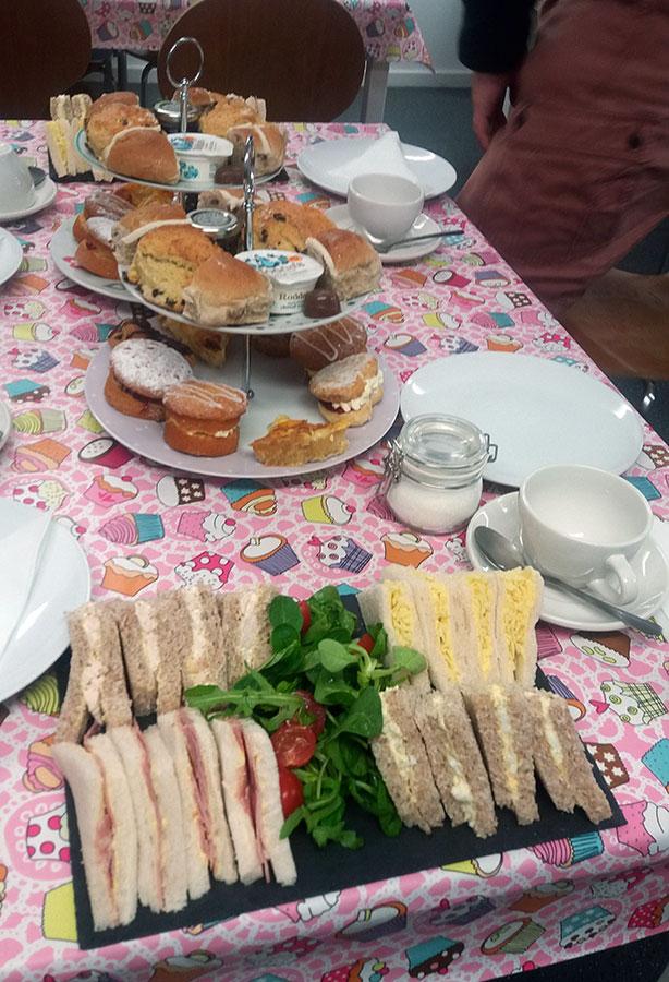 Afternoon Tea at The Snap Tin Cafe