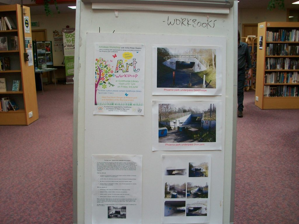 Art Workshop Phoenix Park Underpass Display