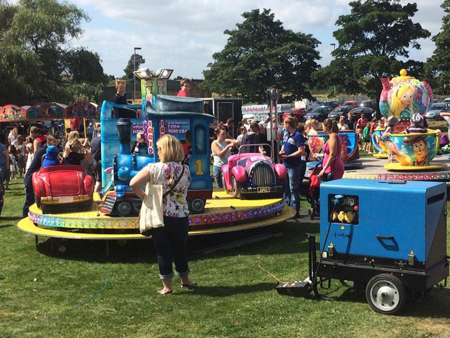 Goldthorpe Bolton Community Fun Day Rides
