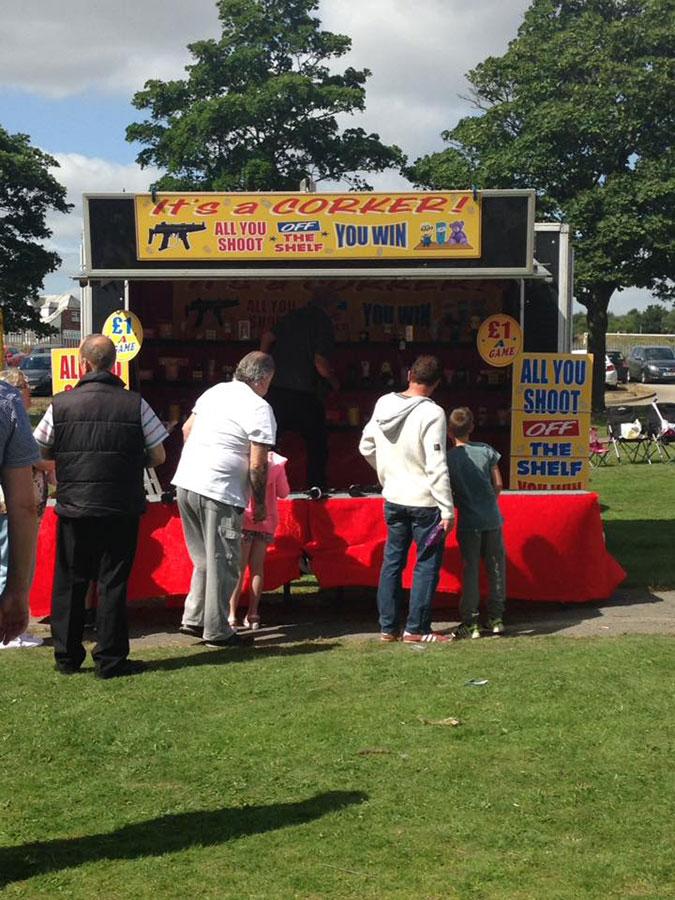 Goldthorpe Bolton Community Fun Day Stall