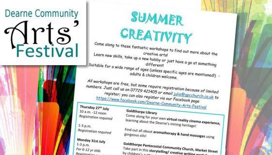 Summer Creative Arts Workshops News