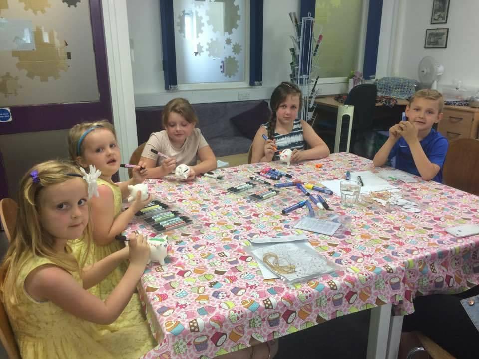 The Snap Tin Cafe Children's Activities