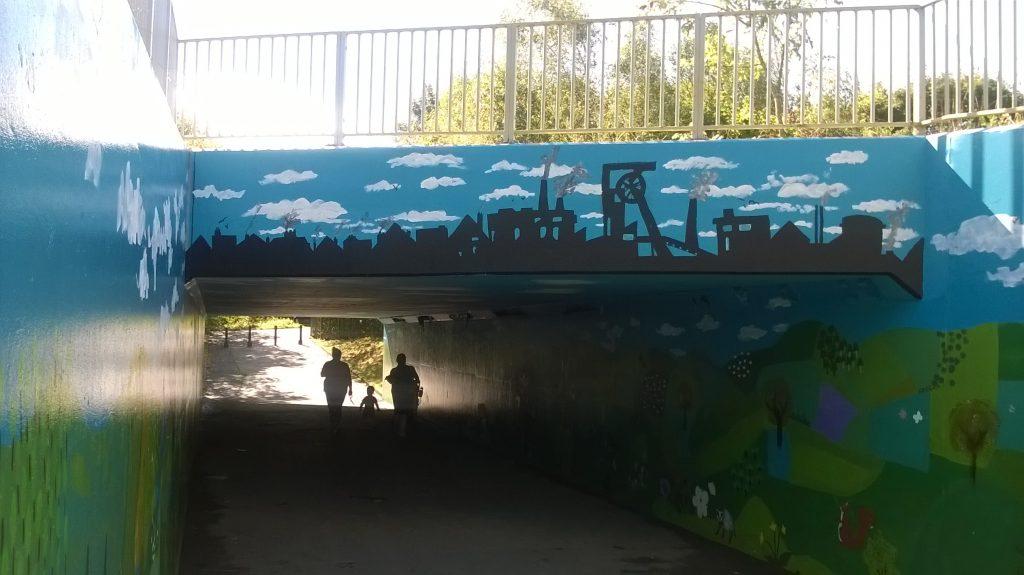 Goldthorpe Bolton Big Local - Phoenix Park Mural Finished