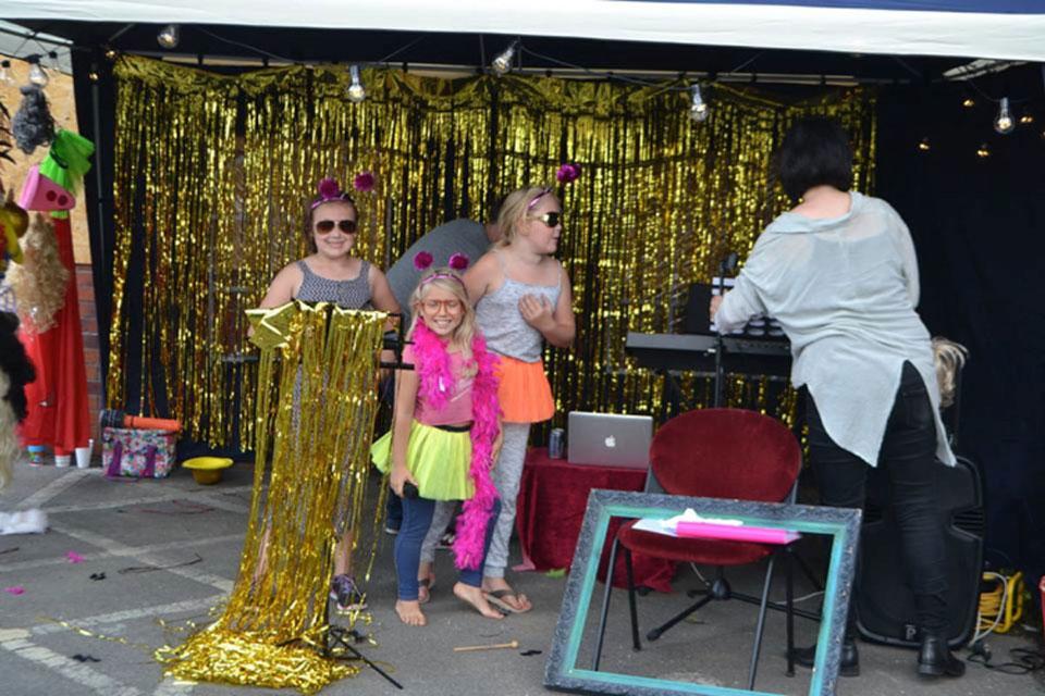 Creative Recovery Karaoke Tent
