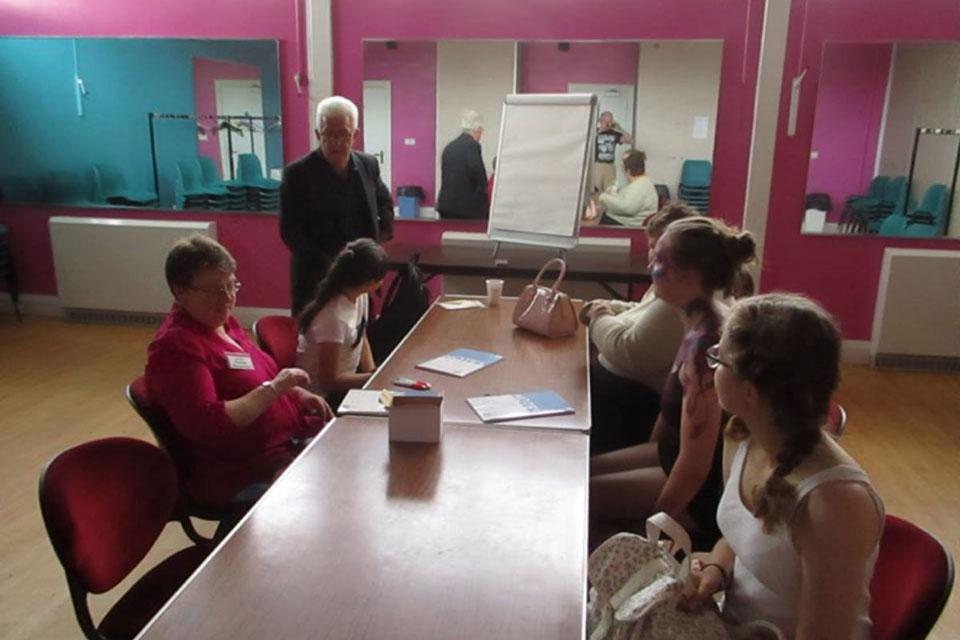 Ian McMillan Creative Writing Workshop