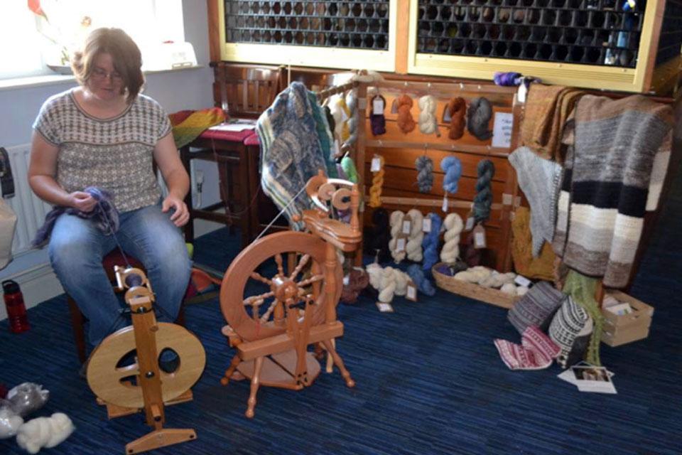 Ruth Pettitt Spinning Skills