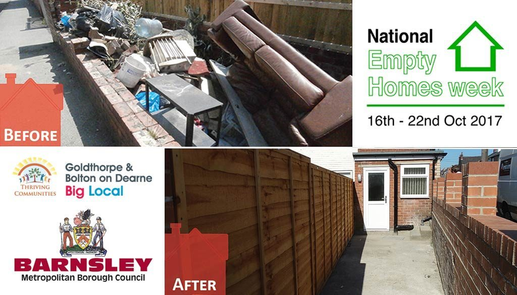 Bringing empty properties back to life in Barnsley